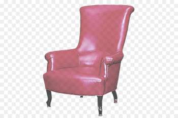 chair furniture pink club chair purple png image transparent background