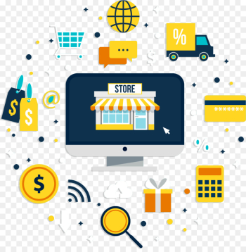 Woocommerce, Vendor, Ecommerce, Yellow, Line PNG png image transparent background
