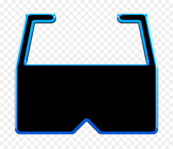 glasses icon reality icon virtual icon png image transparent background