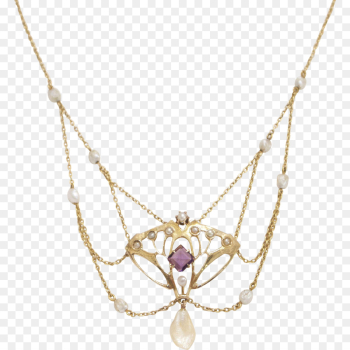 Necklace, Gold, Jewellery PNG png image transparent background