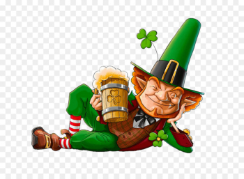 Leprechaun Irish people Saint Patrick's Day Image Stock photography - drinking beer  png image transparent background