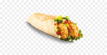 Wrap KFC Shawarma Fried chicken Burrito - twister  png image transparent background