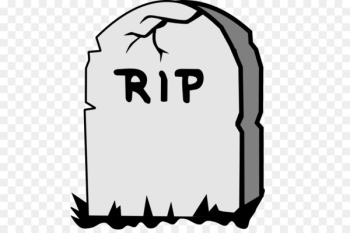 Headstone Grave Cemetery Clip art - RIP  png image transparent background