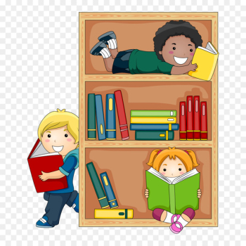 Public library Child Reading Clip art - student  png image transparent background