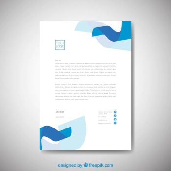 Letterhead template - The Most Downloaded Images & Vectors