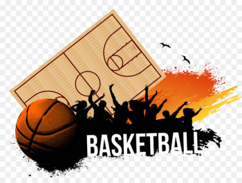 Basketball court Sport Royalty-free - Vector blood Basketball  png image transparent background
