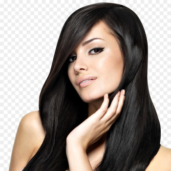 Beauty Parlour Hairstyle Artificial hair integrations Hair straightening - women hair  png image transparent background