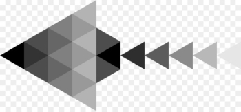 Grey Arrow Black and white - Gray simple splicing arrows  png image transparent background
