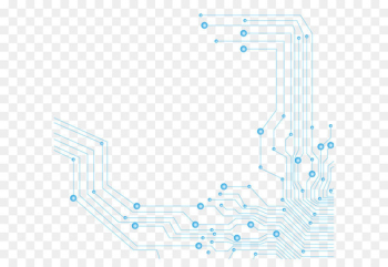 Printed circuit board Circuit diagram Icon - Science and Technology Line  png image transparent background