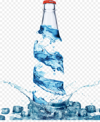 Bottled water Bottled water Water bottle Purified water - mineral water  png image transparent background