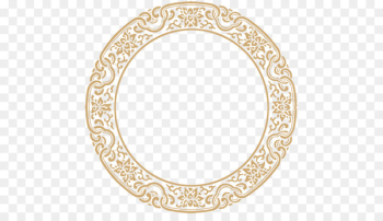 Xiagong Download - Chinese style round frame texture  png image transparent background