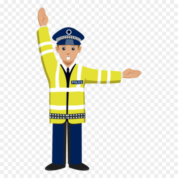 Traffic police Police officer Clip art - Vector command traffic police  png image transparent background