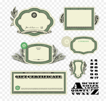 Money Banknote United States Dollar - Banknotes decorative elements  png image transparent background