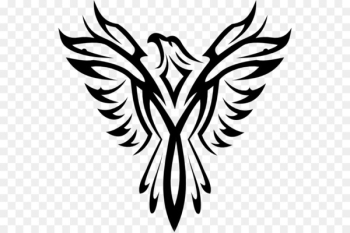 Phoenix Symbol Royalty-free Clip art - Mexican Eagle Tribal  png image transparent background
