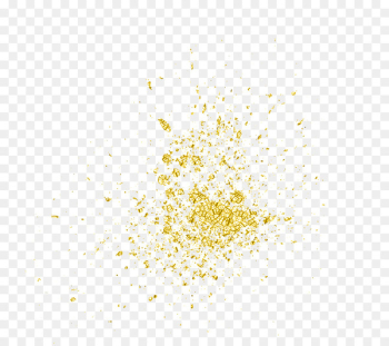 Light Particle - Gold particles  png image transparent background
