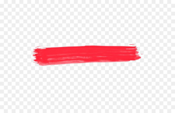 Ink brush Watercolor painting - Red ink lines  png image transparent background