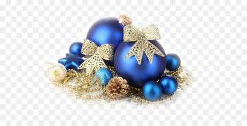 Christmas ornament Christmas decoration Christmas tree Blue - Christmas  png image transparent background