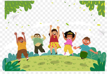 Childrens Day Fathers Day - Happy children are vector  png image transparent background