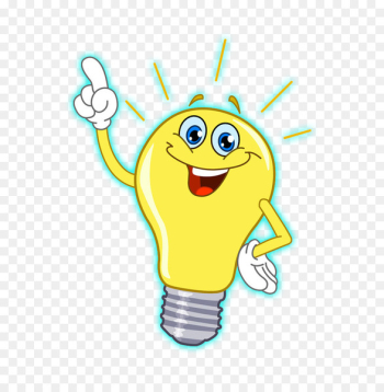Incandescent light bulb Drawing Clip art - cartoon light bulb  png image transparent background