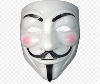 Guy Fawkes mask Anonymous V - Anonymous mask PNG  png image transparent background