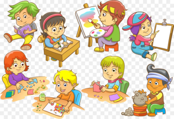 Child Euclidean vector Illustration - Children in school  png image transparent background