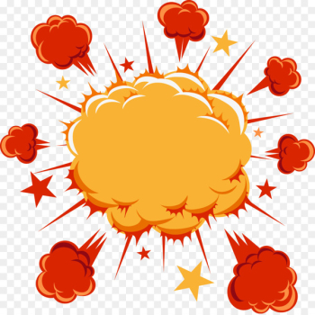 Cartoon Comics Explosion Comic book - Explosion Explosion Explosion cloud labeled stellate  png image transparent background