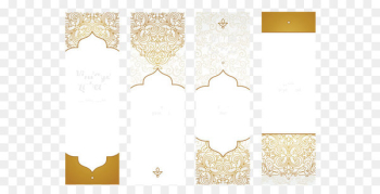 Ethnic pattern cards  png image transparent background