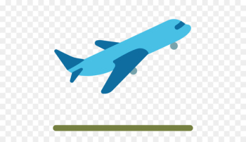 Airplane Flight Air travel Emoji Clip art -   png image transparent background