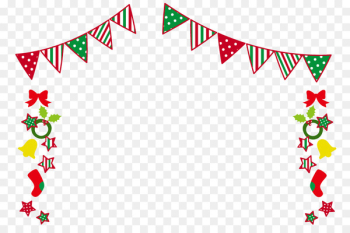 Christmas garland frame - Merry Christmas.png - others  png image transparent background