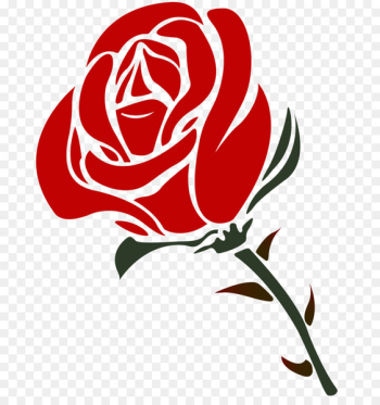Rose Scalable Vector Graphics Valentines Day Clip art - Rose Vector Png  png image transparent background