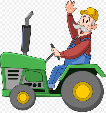 Clip art Agriculture Tractor Farm Vector graphics - tractor  png image transparent background