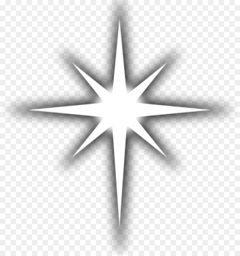 Line art Drawing Clip art - WHITE STARS  png image transparent background