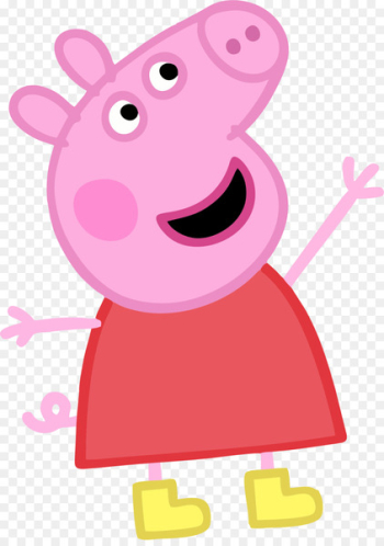 Peppa's Bubble Fun Peppa Pig: Peppa's Super Noisy Sound Book Peppa and George's Shiny Sticker Peppa's Busy Day Peppa Pig: Marvellous Magnet Book - daddy pig  png image transparent background