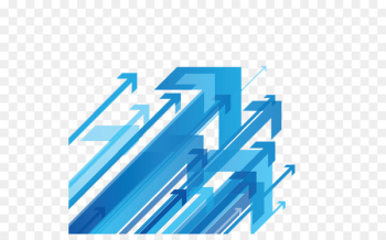 Desktop Wallpaper Arrow Computer Icons - abstract blue  png image transparent background