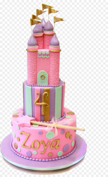 Birthday cake Princess cake Chocolate cake Tart Bakery - Castle cake  png image transparent background