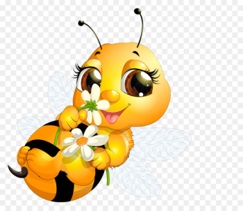 Queen bee Clip art - Cute bee  png image transparent background
