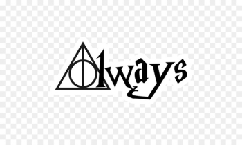Harry Potter and the Deathly Hallows Wall decal Sticker - always vector  png image transparent background