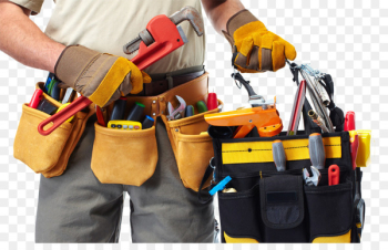 Handyman Service Home repair Advertising Renovation - Various tools package  png image transparent background