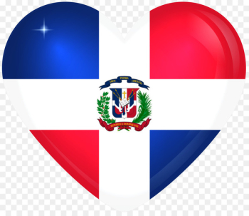 Flag of the Dominican Republic National flag Vector graphics - Flag  png image transparent background