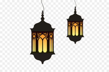 Ramadan Eid al-Fitr Lantern Clip art - Ramadan cartoon lights  png image transparent background
