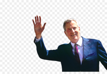 Bill De Blasio, Mayor Of New York City, Democratic Party, Gesture, Businessperson PNG png image transparent background