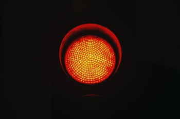 traffic light in red png image transparent background