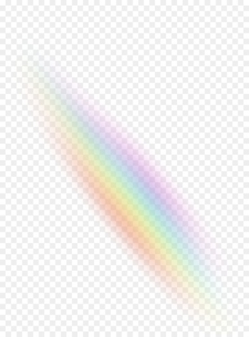 Rainbow Light Color Sky - Light effects  png image transparent background