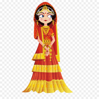 Weddings in India Wedding invitation Bride Clip art - Vector India Clothing  png image transparent background