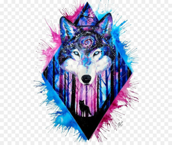 Wolf Avatar  png image transparent background