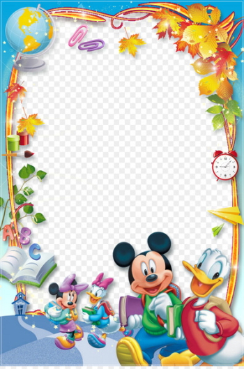 Mickey Mouse Minnie Mouse Daisy Duck Donald Duck Picture Frames - frame  png image transparent background
