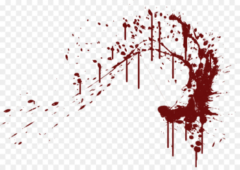 Bloodstain pattern analysis Clip art - Blood Splatter Png  png image transparent background