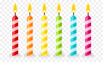 Birthday Candles Clip art Openclipart Birthday cake - Birthday  png image transparent background
