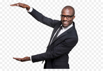 Stock photography Black Happiness African American - Recommended gesture business people do  png image transparent background