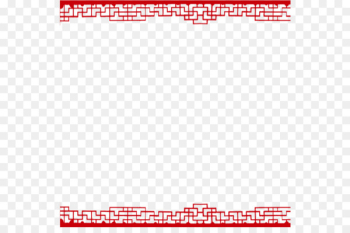 Tangyuan Chinese New Year Lantern Festival - Red border  png image transparent background